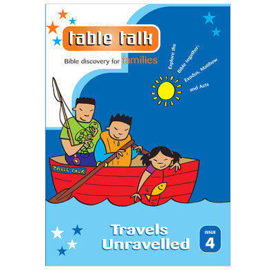 Table Talk Issue 4: Travels Unravelled