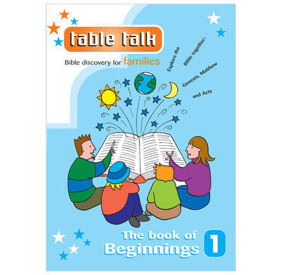 Table Talk Issue 1: The Book of Beginnings