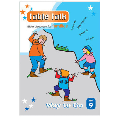 Table Talk Issue 9: Way to Go