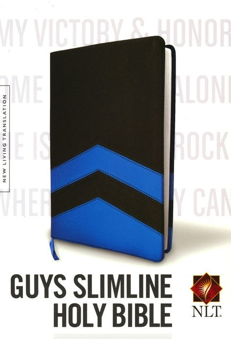 Guys Slimline NLT Bible