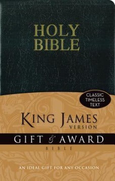 KJV Black Gift & Award Bible