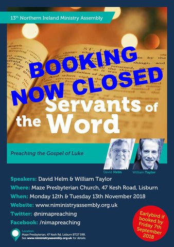 NIMA: Servants of the Word (12th-13th November 2018)