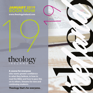 Theology Ireland 2019 - Saturday Seminars