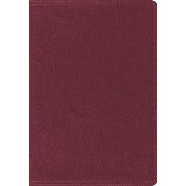ESV Giant Print Burgundy Trutone