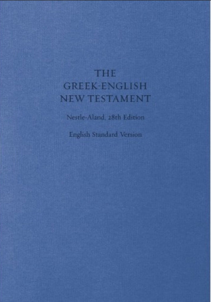 The Greek-English New Testament Nestle-Aland 28th Ed.