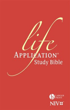 NIV Life Application Study Bible Large Print