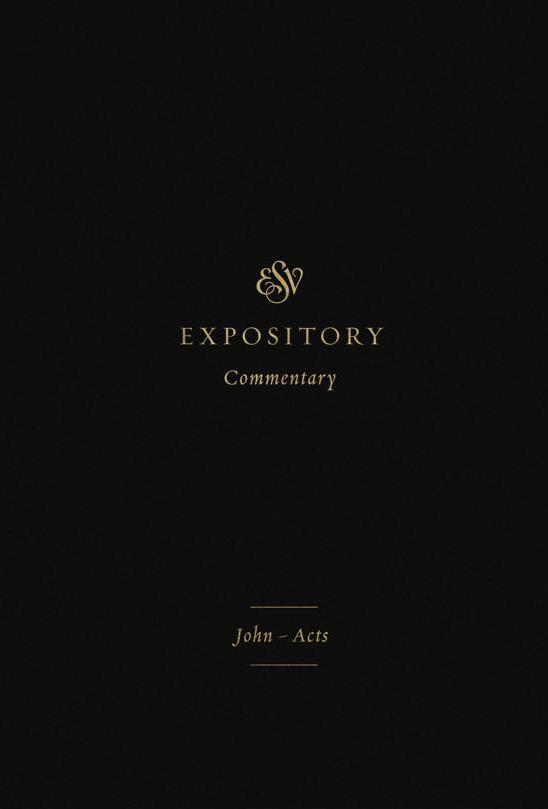 John - Acts ESV Expository Commentary Vol 9