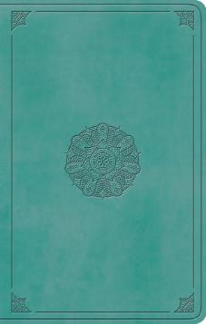 ESV Large Print Value Thinline Bible (Turquoise)