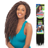 Janet Collection PRE-LOOP Crochet Braid - 2X HAVANA MAMBO TWIST BRAID 24""
