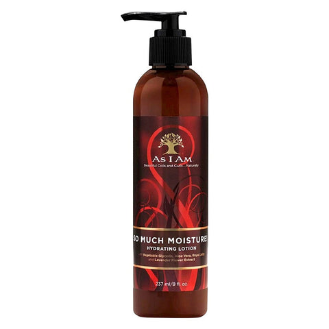 As I Am - So Much Moisture! Hydrating Lotion 8oz