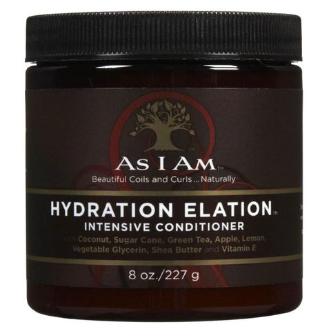 As I Am - Intensive Conditioner - HYDRATION ELATION 8oz