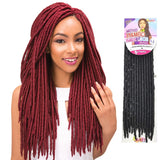 Janet Collection PRE-LOOP CROCHET BRAID - Mono Mambo Faux Locs 14""