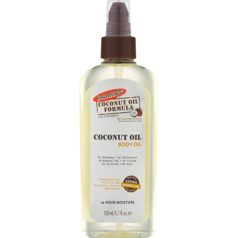 Palmer's COCONUT OIL FORMULA Coconut Oil Body Oil 5.1oz