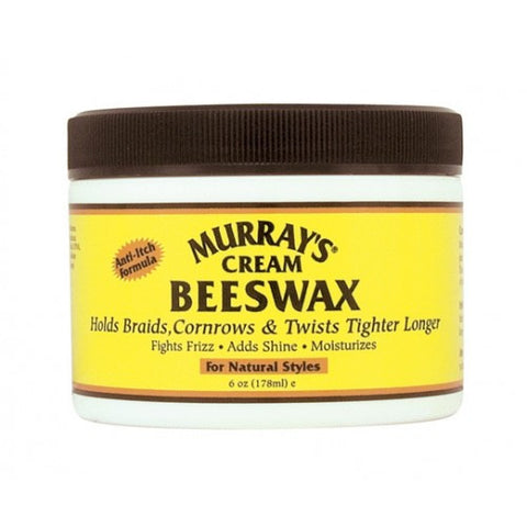 Murray's Cream BEESWAX 6oz