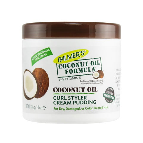 Palmer's COCONUT OIL FORMULA Curl Styler Cream Pudding 14oz