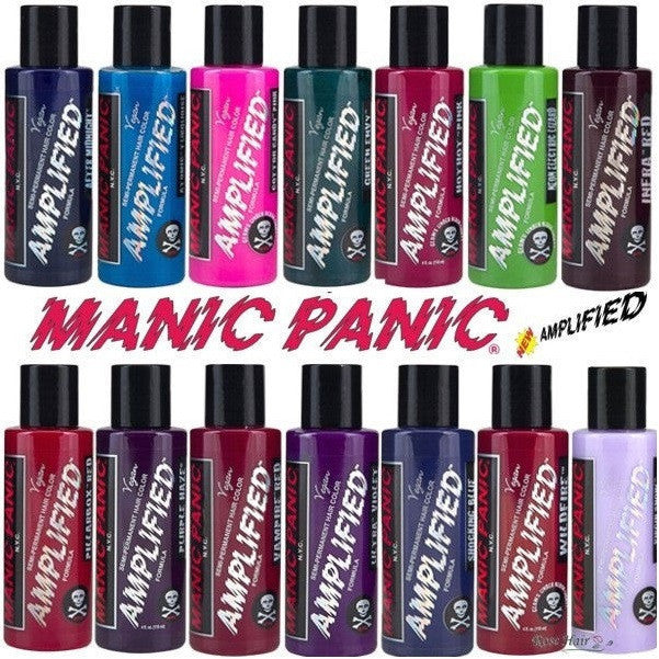 Magnifiek MANIC PANIC - Amplified Semi-Permanent Hair Color 4oz – TheBeautyPlace &EL96