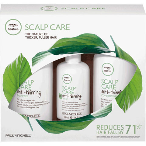 PAUL MITCHELL - Tea Tree - Scalp Care Anti Thinning Regimen Kit