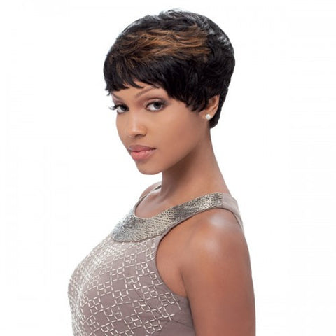 SENSATIONNEL Human Hair Bump Collection Wig - EASY 27