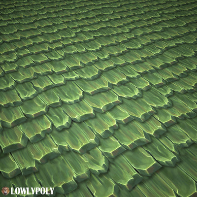 Roof Vol.51 - Game PBR Textures - LowlyPoly