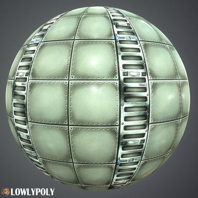 Scifi Vol.80 - Game PBR Textures - LowlyPoly