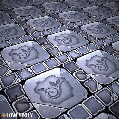 Tile Vol.54 - Game PBR Textures
