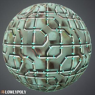 Scifi Vol.88 - Game PBR Textures - LowlyPoly