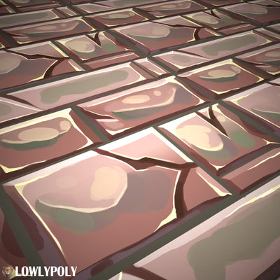 Mix  Vol.70 - Game PBR Textures - LowlyPoly