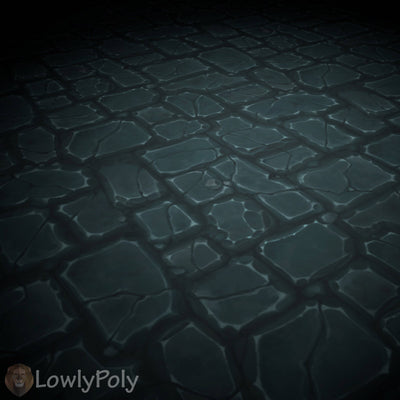 Stone Tile Vol.06 - Hand Painted Texture Pack - LowlyPoly