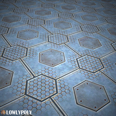 Scifi Vol.78 - Game PBR Textures - LowlyPoly
