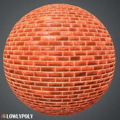 Walls Vol.72 - Game PBR Textures - LowlyPoly