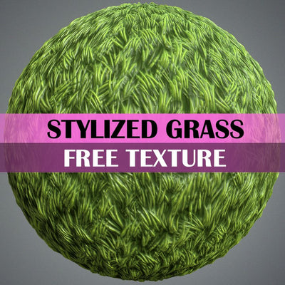 Hand Painted Grass Texture - LowlyPoly