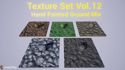 Ground Mix Vol.12 - Hand Painted Texture Pack