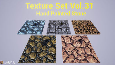 Stone Vol.31 - Hand Painted Texture