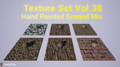 Mix Vol.38 - Hand Painted Textures