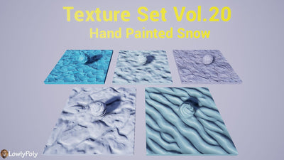 Snow Vol.20 - Hand Painted Texture Pack