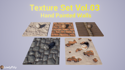 Walls Vol.03 - Hand Painted Texture Pack