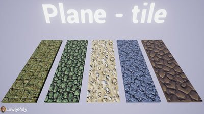 Ground Vol.45 - Hand Painted Texture Pack - LowlyPoly