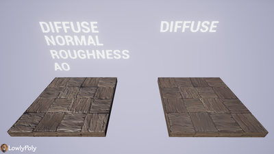 Wood Vol.02 - Hand Painted Texture Pack - LowlyPoly