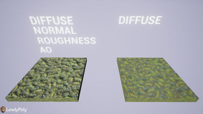 Grass Vol.42 - Hand Painted Texture Pack