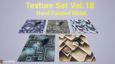 Metall Vol.18 - Hand Painted Texture Pack