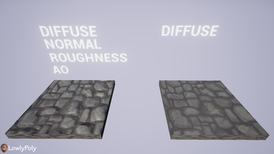 Walls Vol.03 - Hand Painted Texture Pack - LowlyPoly