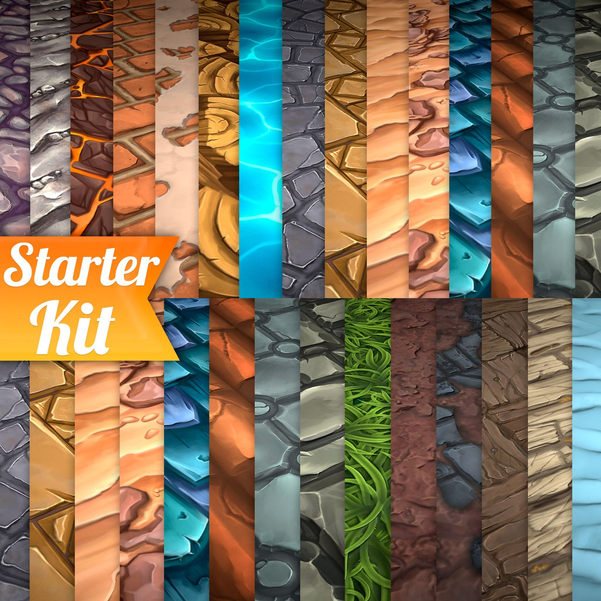 Hand Painted Textures Starter Kit
