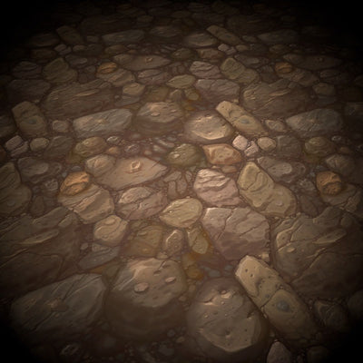 Rocks Vol.01  - Hand Painted Textures