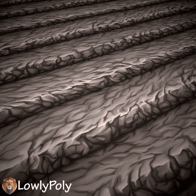 Ground Vol.48  - Hand Painted Textures - LowlyPoly