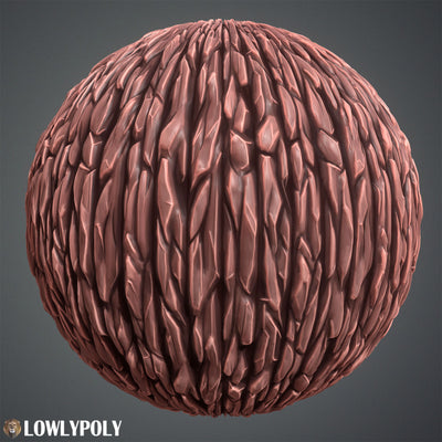 Wood Vol.32 - Hand Painted Texture - LowlyPoly