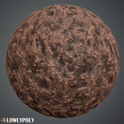 Dirt Vol.19 - Hand Painted Texture Pack - LowlyPoly