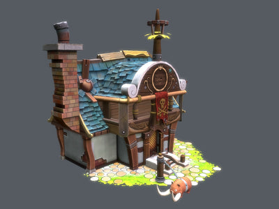 Stylized Pirate House