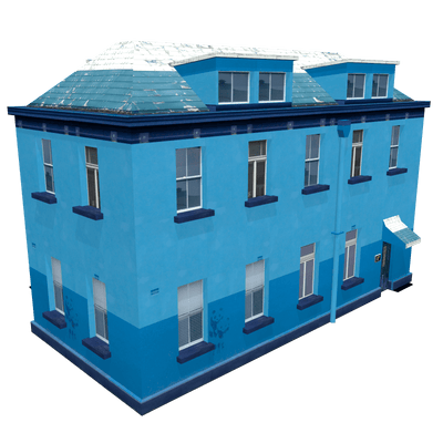 Free 3D model of house