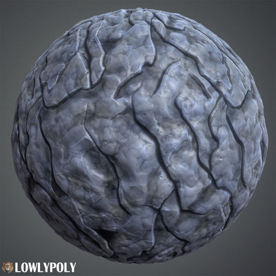 Rocks Vol.15 - Hand Painted Texture Pack - LowlyPoly