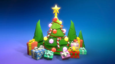 Christmas Tree POLYCRAFT
